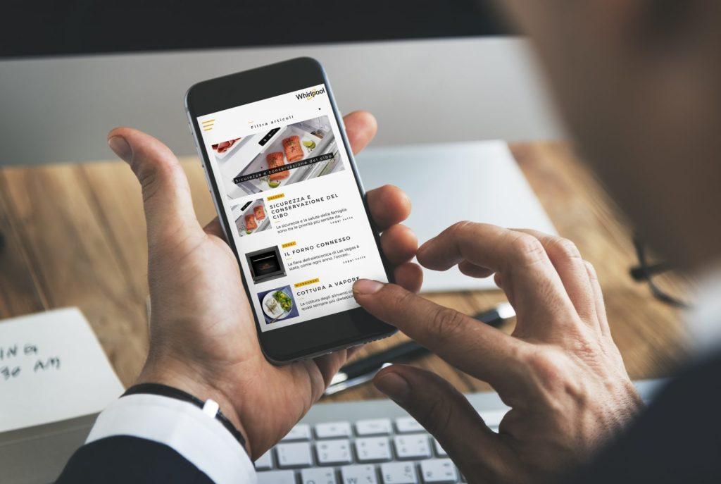App per raccontare ii benefici dei prodotti al cliente
