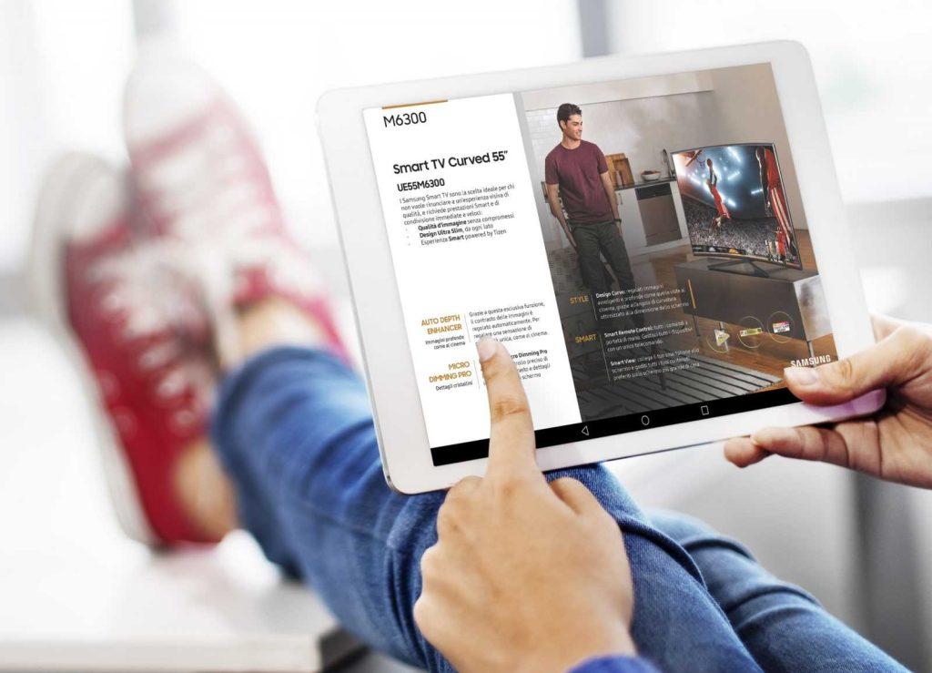 Strumenti digitali per presentare i benefici dei prodotti al cliente